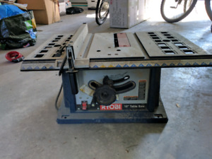 "Banc de scie / table saw 10"" Ryobi"