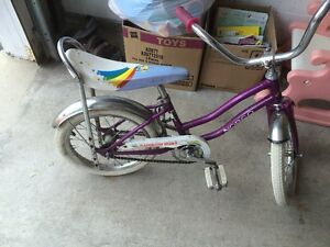 1980's Rainbow Brite bicycle ---real deal cartoon retro   girls