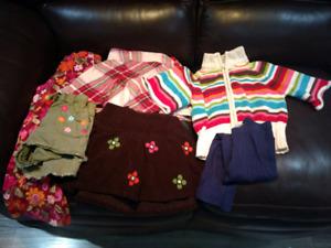 Gymboree girl's 4T clothes lot