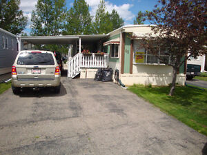 65 Watergrove Trailer Mobile Home Carport Huge Covered Deck