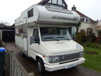Hymer Camp 564 1993 Lovely Compact LHD 4 Berth Motorhome Camper Van 4 seatbelts