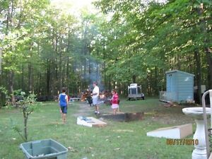Private camping in Roxton Pond