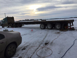 HIGHBOY FLATBED FOR HIRE Strathcona County Edmonton Area image 1