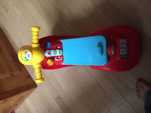 Fisher Price Laugh & Learn Ride On