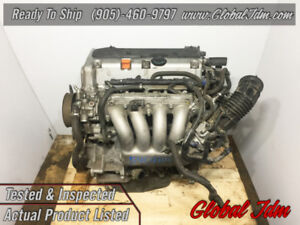 JDM 03-11 Honda Accord Element 2.4L DOHC VTEC K24A Engine Motor