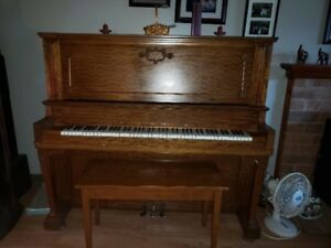 Mason & Risek Upright Piano