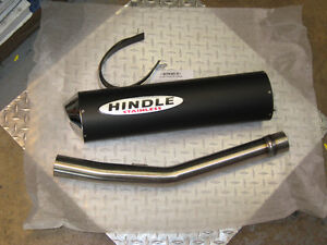 2000-05 bandit 600 hindle slip on racing exhaust