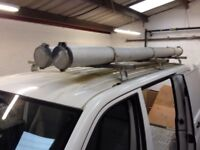 Plumbers tube roof rack tubes