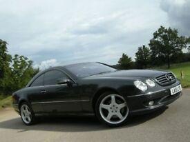 Merecedes CL55 AMG metallic dark grey