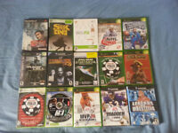 PS1, PS2, XBOX, GC, WII, 360, GBA GAMES/JEUX