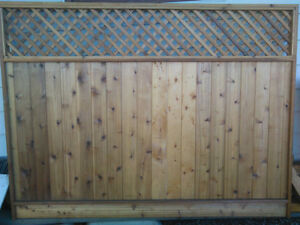 New cedar fence panel 8ft by 6ft from ShakeShop