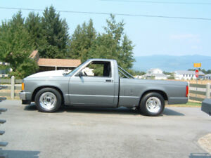 91 Chev S10 Short Box Pickup Hot Rod