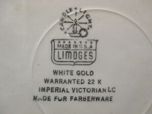 Vintage Wrought Farberware Tray&Bowl w/ Triumph Limoges Plate w/ Stratford Kitchener Area image 8