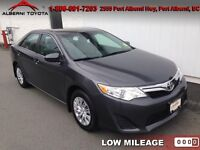 2012 Toyota Camry  LE  Low Mileage, Bluetooth,Air Conditioning
