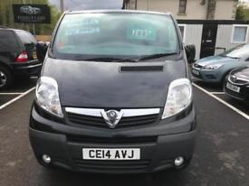 2014 (14) Vauxhall Vivaro 2.0CDTi 115ps Sportive 2700 SWB ** ONLY 65K **#NO VAT