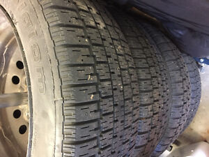4 BF Goodrich winter slalom tires