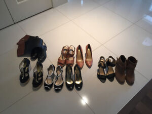 Various Womens Shoes