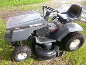 """Craftsman 42"""" Deck Lawn Tractor"""