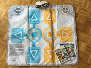 Tapis pour Wii + jeu Outdoor Challenge - 20$