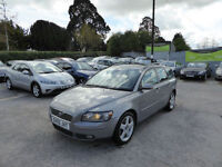 2005 VOLVO V50 2.0D 2005 SE DIESEL ESTATE FULL LEATHER ALLOY WHEELS HEATED SEATS