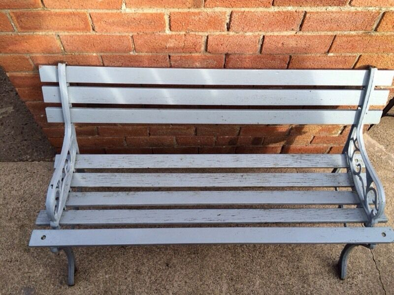 Garden Bench With Cast Iron Ends In Dungannon County Tyrone Gumtree