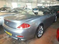 2005 BMW 6 Series 645 Ci 4.4 V8 Convertible Automatic From £9,195 + Retail Packa
