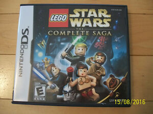 Star Wars Lego - The Complete Saga for Sale (DS Game)