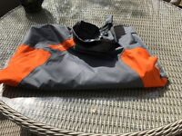 Tribord DSG500 cagoule for water sports, kayaking, canoeing, size large.