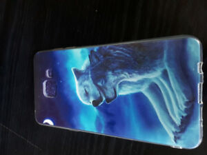 Wolf smartphone case for a Samsung A5 2016