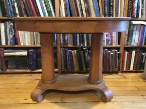 NEW PricE Antique Oval Library Table $350