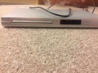 Philips silver DVD player