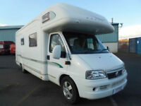 BESSACARR E745, 4 BERTH, OVER HEAD CAB BED FOR SALE