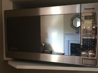 Panasonic Inverter Stainless Steel Microwave