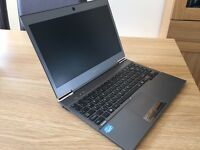 Toshiba Ultrabook (very slim and light)