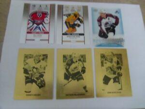 2018-19-Tim Horton's-Six Insert Hockey Cards.