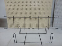 Ducti Black Wire Display Wall Extension 4 peg Hook sets- New