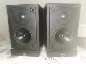 Mordaunt-Short MS10i speakers