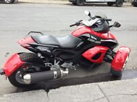 Can-Am Spyder SEULEMENT 4700 KM