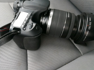 Canon Eos 60D with lends & flashing