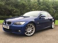 2008 BMW 320D 2.0TD M SPORT COUPE 2 DOOR LE MANS BLUE
