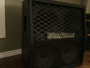mesa 4x12 cab and MXR superbadass distortion pedal