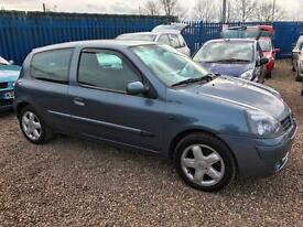 Renault Clio 1.2 16v 75 ( a/c ) CAMPUS S CLEAN IDEAL 1st CAR FULL YEARS MOT
