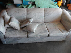 FREE couch .  ready for pick up today March 29