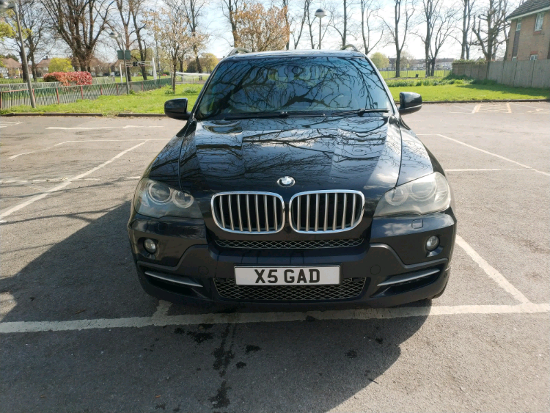 BMW X5 E70 3 0D black | in Colliers Wood, London | Gumtree