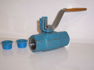 """WKM DYNASEAL 310 FLOATING BALL VALVE 1"""" WATER GAS 3000 MOP"""