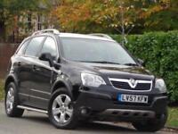 2007 Vauxhall Antara 2.4i 16v***LPG COVERTED + LOW MILES 80K***