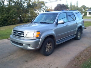 2001 Toyota Sequoia Limited SUV, Crossover - $5000 or BEST OFFER