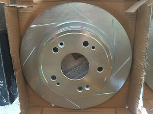 New Acura rear brake rotors and ceramic brake pads Honda brakes Edmonton Edmonton Area image 1