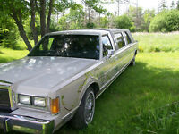 1989 Lincoln Town Car Stretch Limo