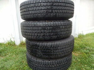 Set of new tires 185/70/14